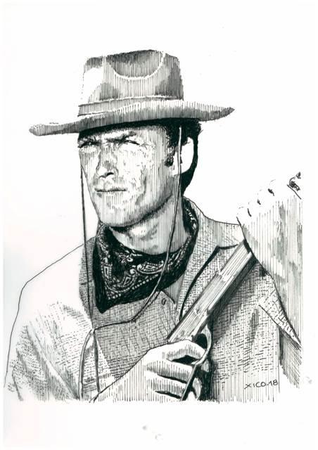 Clint Eastwood by FCARLOS